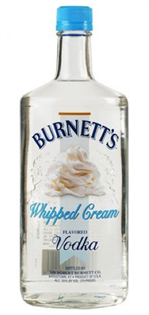 Burnett's Vodka Whipped Cream 750ml - Case of 12